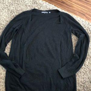 Vince long sleeve sweater black